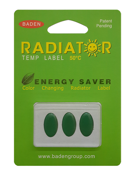 Color Changing Radiator Label